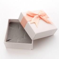 Pudełko prezentowe RÓŻ/SZARE